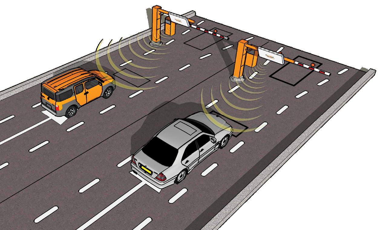 Gestión de flotas vehiculares por RFID